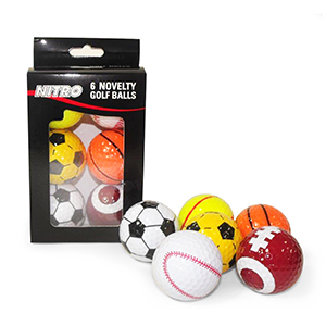 Nitro Golf Novelty Sport Golf Balls