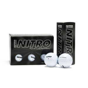 Max Distance White Golf Balls