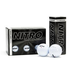 Tour Distance White Golf Balls